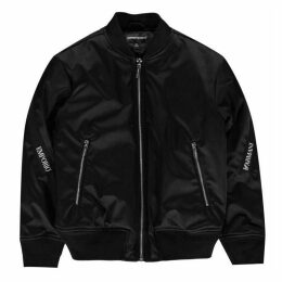Emporio Armani Taped Bomber Jacket