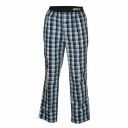 Boss Bodywear Urban Check Pyjama Bottoms