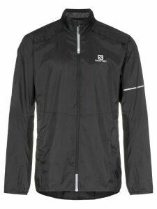 Salomon S/Lab Agile zipped sports jacket - Black