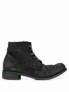 A Diciannoveventitre lace-up ankle boots - Black