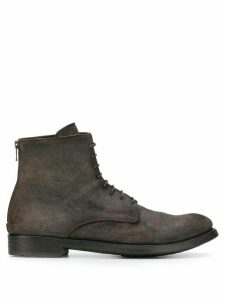 Officine Creative ankle lace-up boots - Grey