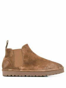 Marsèll textured slip-on boots - Brown