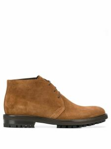 Tagliatore lace-up detail boots - Brown