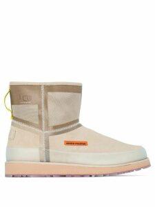Heron Preston x Ugg tech custom boots - Brown
