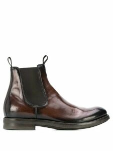 Officine Creative Academia pull-on boots - Brown