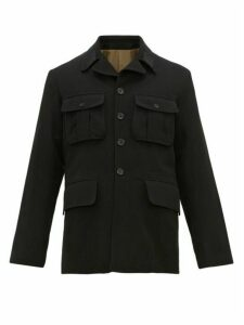 Ann Demeulemeester - Flap Pocket Wool Blend Jacket - Mens - Black