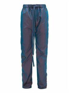Fear Of God - Iridescent Technical Track Pants - Mens - Blue