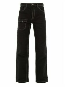 Phipps - Civilian Straight Leg Jeans - Mens - Black
