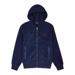Polo Ralph Lauren Navy Hooded Fleece Sweatshirt