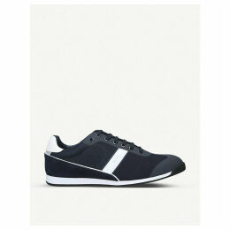 Glaze low-top mesh trainers