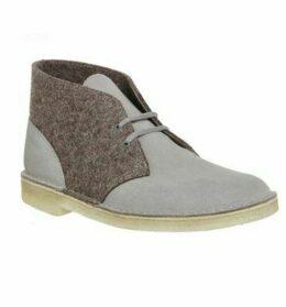 Clarks Originals Desert Boot GREY FELT,Grey,Black,Brown