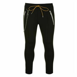 Rhude Traxedo Trousers With Chain