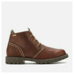 Barbour Men's Pennine Leather Waterproof Chukka Boots - Hickory - UK 11 - Brown