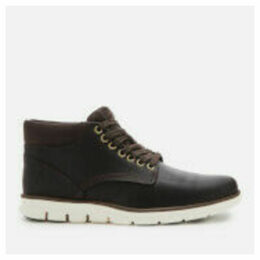 Timberland Men's Bradstreet Chukka Leather Boots - Dark Brown Full Grain - UK 11