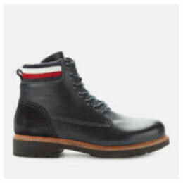 Tommy Hilfiger Men's Active Corporate Lace Up Boots - Midnight - UK 7 - Blue