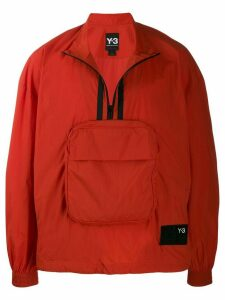 Y-3 striped performance jacket - Orange