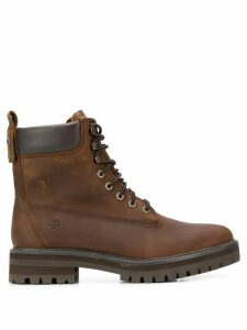 Timberland lace up ankle boots - Brown