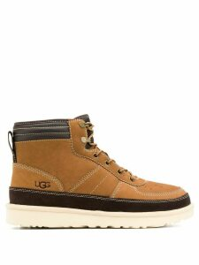 Ugg Australia lace-up ankle boots - Brown