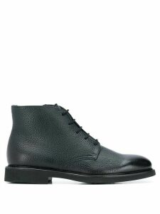 Doucal's LACE-UP BOOTS - Blue