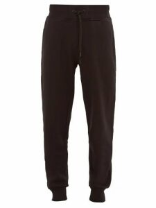 Peak Performance - Logo Patch Cotton Blend Track Pants - Mens - Black