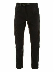 And Wander - Technical Fleece Panel Trousers - Mens - Black