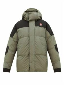 66°north - Tindur Quilted-down Hooded Jacket - Mens - Grey
