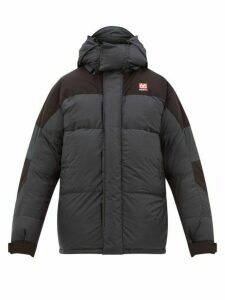 66°north - Tindur Quilted-down Hooded Jacket - Mens - Black