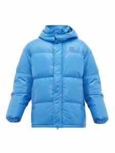 66°north - Dyngja Hooded Quilted-down Jacket - Mens - Blue