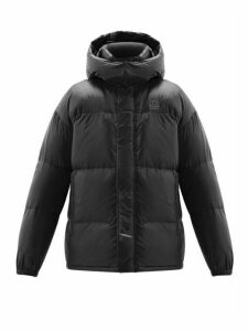 66°north - Dyngja Quilted Down Hooded Jacket - Mens - Black