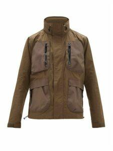 John Elliott - Six Pocket Technical Parachute Jacket - Mens - Green