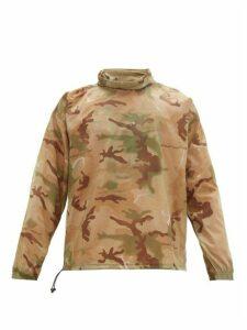 Off-white - Puzzle Fun Camouflage Print Ripstop Pullover - Mens - Multi