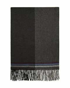 The Men's Store at Bloomingdale's Block Border-Striped Scarf - 100% Exclusive