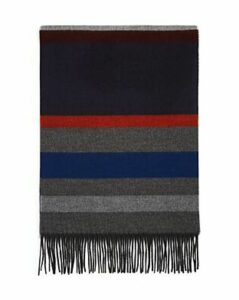 The Men's Store at Bloomingdale's Color-Block Striped Scarf - 100% Exclusive