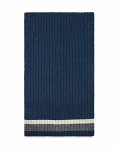 The Men's Store at Bloomingdale's Striped Ribbed Scarf - 100% Exclusive