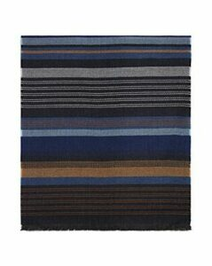 The Men's Store at Bloomingdale's Oversized Striped Scarf - 100% Exclusive