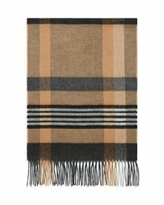 The Men's Store at Bloomingdale's Striped Plaid Scarf - 100% Exclusive