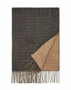 The Men's Store at Bloomingdale's Dotted Reversible Scarf - 100% Exclusive