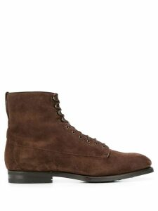 Barbanera lace-up ankle boots - Brown