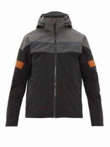 Capranea - Blade Soft-shell Hooded Ski Jacket - Mens - Black