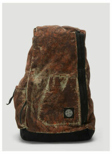Stone Island Utility Backpack in Brown size One Size