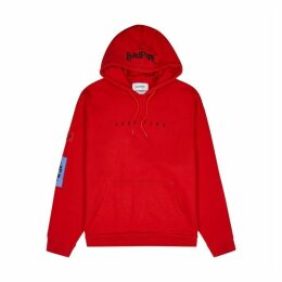 Asap Ferg By Platform X Mob Hooded Cotton-jersey Sweatshirt