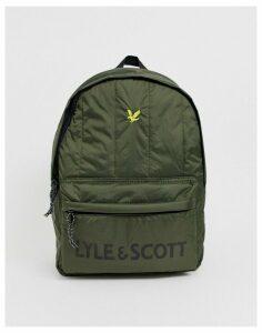 Lyle & Scott wadded backpack-Green