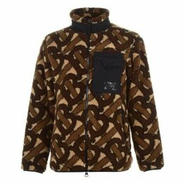 Burberry Monogram  Jacquard Fleece Jacket