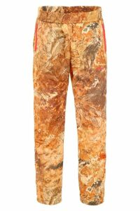 HERON PRESTON Printed Trousers
