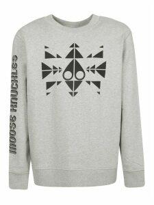 Moose Knuckles Trippy Logo Sweatshirt