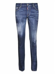 Dsquared2 Splat Detail Jeans