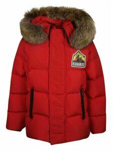 Dsquared2 Fur Hood Padded Jacket