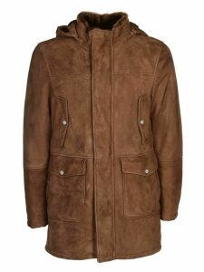 Eleventy Leather Jacket