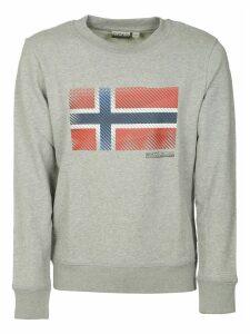 Napapijri Norway Flag Print Sweatshirt