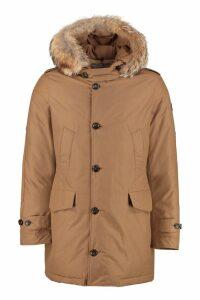 Woolrich Polar Parka With Fur Trimmed Hood